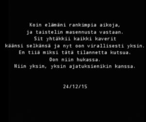 alone, sad, and suomi image