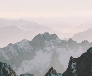 aesthetic and mountains image