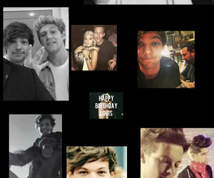 happy bday and louis tomlinson image