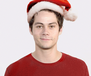 dylan o'brien and christmas image