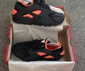 black and orange image