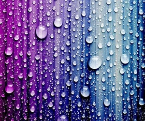 wallpaper, rain, and drops image