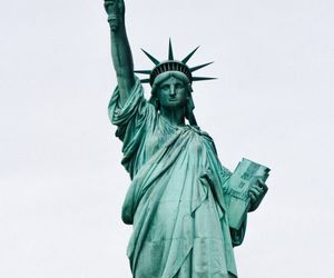 liberty and statue image