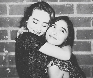 sabrina carpenter, rowan blanchard, and friendship image