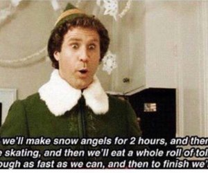 elf, christmas, and movie image