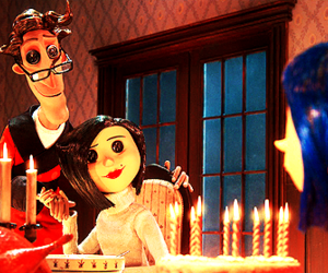 coraline, film, and movie image