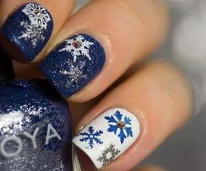christmas, idea, and nails image