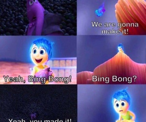 inside out, sad, and movie image