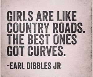 curves, girl, and country image