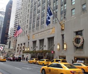 new york city, nyc, and waldorf astoria image
