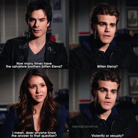 the vampire diaries, tvd, and bite image