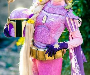 costume, rapunzel, and starwars image