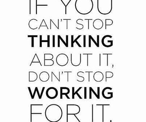 quote, motivation, and thinking image