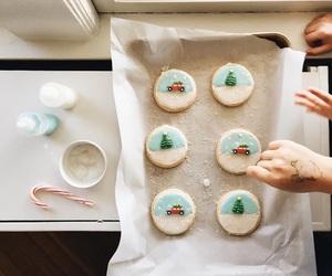 christmas, desserts, and photography image