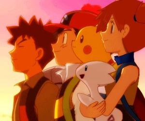 pokemon, pokeshipping, and misty and ash image