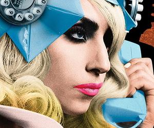 Lady gaga and telephone image