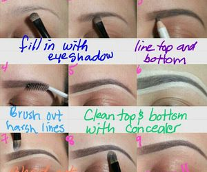 eyebrows and how to image