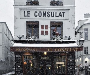 france, grunge, and snow image