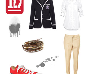 blazer, red, and 1d image