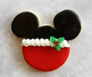 christmas, disney, and disney cookies image