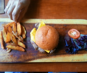 burger, color, and food image