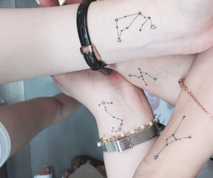 art, ink, and constellations image
