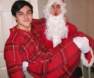 grayson dolan, ethan dolan, and christmas image