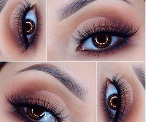 cosmetics, eyelash, and eyeliner image