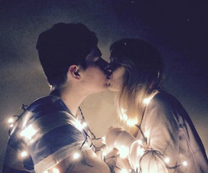 boyfriend, christmas, and couple image