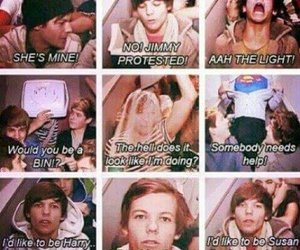 louis, x factor days, and tomlinson image