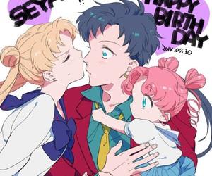 anime, anime girl, and family image