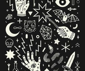 black and white, wallpapers, and patterns image