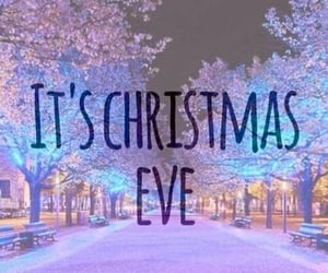 christmas, eve, and christmas eve image