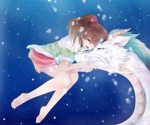 anime, dragon, and spirited away image