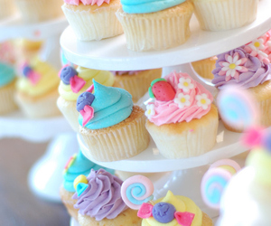 beautiful, candy, and cupcakes image