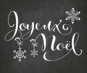 merry christmas and joyeux noel image
