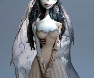 corpse bride, tim burton, and bride image