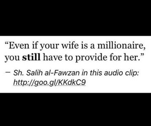 islam, millionaire, and woman image