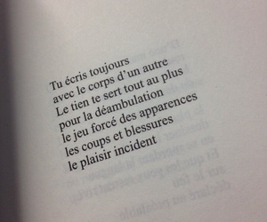 french, pale, and quotes image