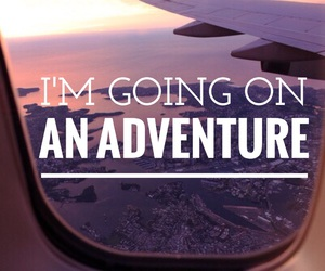 adventure, travel, and airplane image