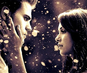 couple, tvd, and stelena image