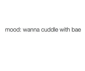 bae, couples, and cuddle image