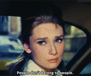 Breakfast at Tiffanys, holly golightly, and quote image