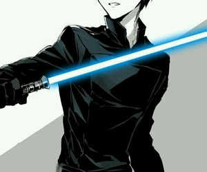 attack on titan, anime, and star wars image
