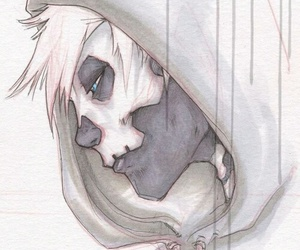 boy and skull image