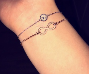 bracelet, forever, and classy image