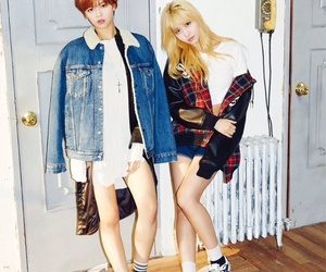 twice, momo, and jeongyeon image
