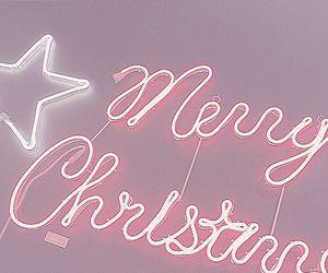 christmas, pastel, and stars image