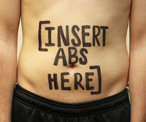 abs, text, and funny image