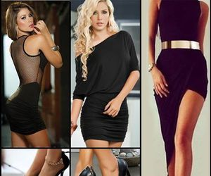 clubwear, partydress, and fashion image